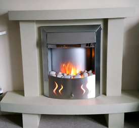 """""""Price reduction"""" Fire + surround,"""