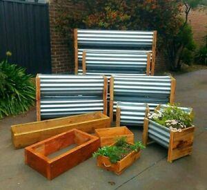 Planter Boxes Raised Garden Beds Fruit Vegie Herb Flower Pots