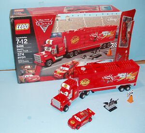 LEGO DISNEY CARS  no 8486, le MACK'S TEAM TRUCK