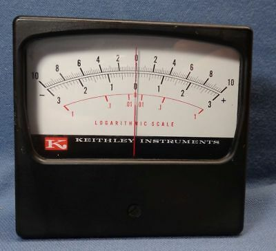 Keithley Instruments Logarithmic Scale Panel Meter