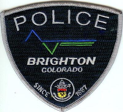 Brighton Police Colorado patch NEW