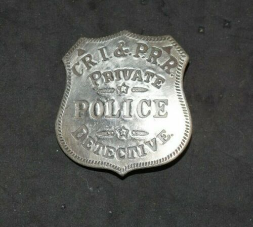 Antique 1800s,Silver Plated Obsolete Badge, Inlaid & Raised Letters Read Blow!