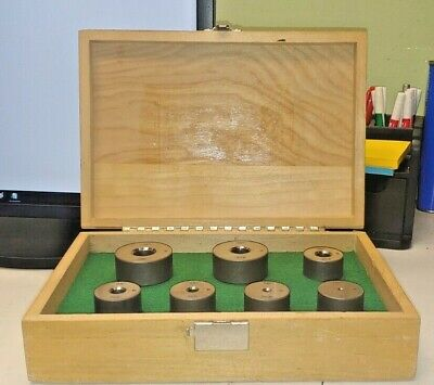 90 Countersink Calibration Block Set - 7 Blocks