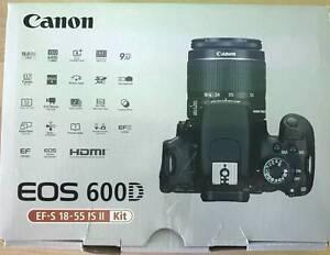 Canon EOS 600D Digital SLR Camera + Canon EF-S 18-55mm f/3.5-5.6 Wolli Creek Rockdale Area Preview