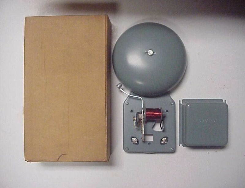 Edwards Signaling 55-6AM Single Magnet Vibrating Bell - NEW IN BOX