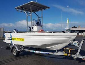 4.8m poly boat for rent. Pick up and return to Malaga