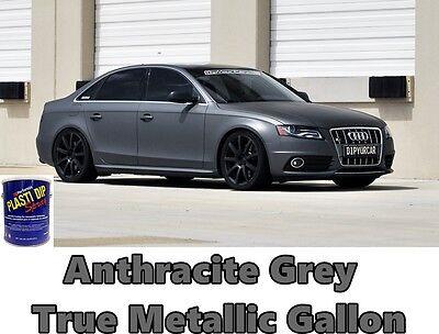 1 Gallon Anthracite Grey True Metallic Ready To Spray Plasti Dip Performance Gal