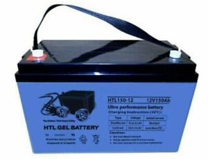 AGM/GEL 150Ah Amp Hour Ultra performance Deep cycle battery Moonah Glenorchy Area Preview