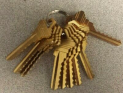 Schlage Sc4 6 Pin Depth Key Set.