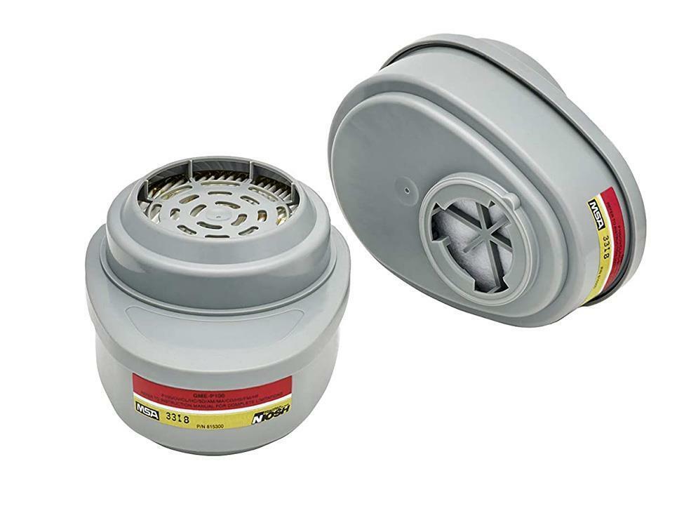 MSA 815366 Advantage Multigas/P1OO Combo Cartridge 1 Package of 2 Cartridges Business & Industrial