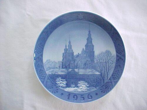 1956 Royal Copenhagen Denmark Annual Christmas Plate