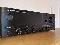 KENWOOD BLACK HIFI STEREO INTEGRATED AMPLIFIER