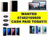 WANTED - Iphone 7 plus 6s plus Iphone 6 SE iphone 5s ipad pro MACBOOK AIR Samsung Galaxy s6 s7 edge-