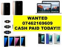 WANTED - IPHONE 7 PLUS 6S PLUS SE 5S IPHONE 6 IPAD AIR MINI MACBOOK PRO SAMSUNG GALAXY S6 S7 EDGE