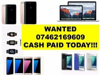 WANTED - Iphone 7 plus 6s plus 6s SE 5s Iphone 6 ipad pro MACBOOK AIR Samsung Galaxy s6 s7 edge ps4)