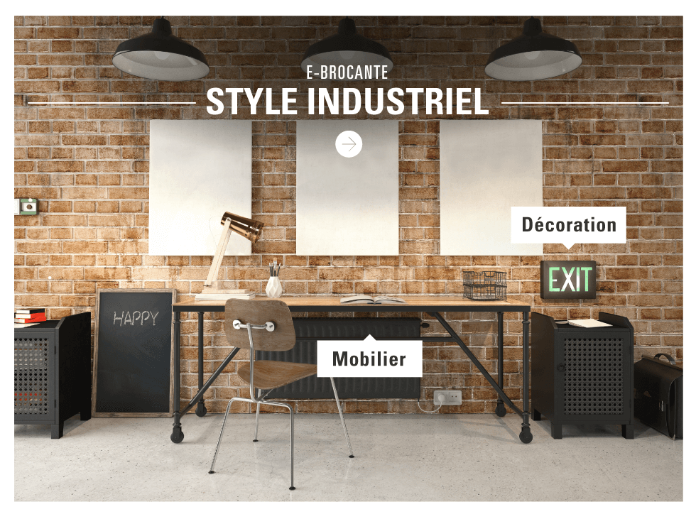 Brocante : Meubles Et Déco De Style industriel | eBay