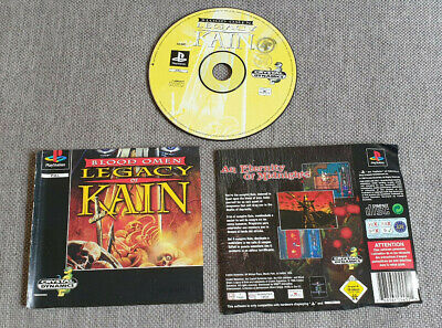 Sony Playstation 1 PS1 Game Blood Omen Legacy of Kain