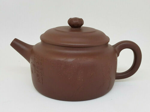ANTIQUE CHINESE TEAPOT GLAY