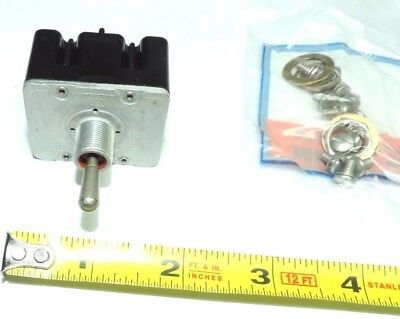 Honeywell 4tl110 Toggle Switch 4tl1-10 4pdt On-on-on 15a 125250vac 4 Pole