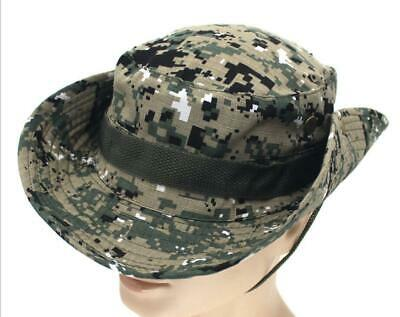 Army Digital Boonie Hat (US Army Outdoor Tactical Military Hunting Fishing ACU DIGITAL Boonie Hat Cap)