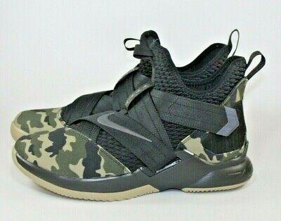 faf77fafdd5 Nike Lebron Soldier 12 XII SFG Basketball Shoes Camo AO4054-001 Size 12