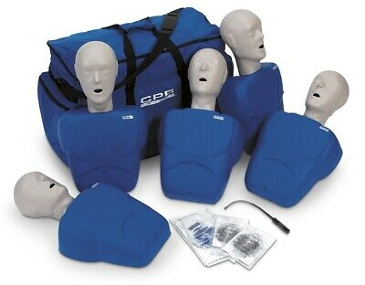Cpr Prompt Adultchild Manikin 5 Pack Cpr Aed Training Manikins - Blue