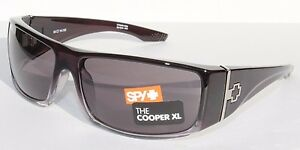 dfdefe41a2 SPY OPTICS Cooper XL Sunglasses Black Fade Grey NEW 670036316129