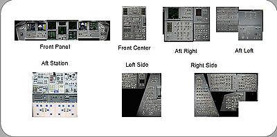 1/72 scale Shuttle Detail Application Set