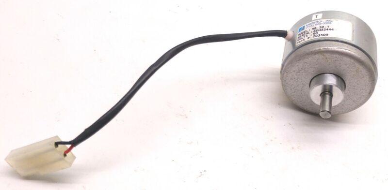 "Magtrol HB-32-1 Hysteresis Brake, 90 Volts, Shaft: 0.25"", Min. Torque: 32 oz-in"