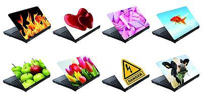 "LAPTOP AUFKLEBER 15"" Sticker 27x36cm Notebook Netbook Skin Folie Schutz 8-var."