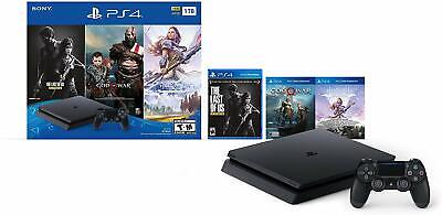 Sony PlayStation 4 Slim 1TB Console Bundle- Brand New