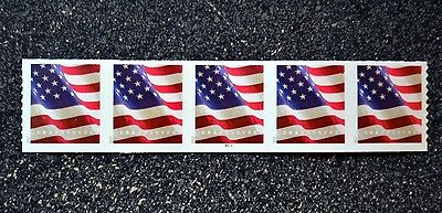 2017Usa  5159 Forever U S  Flag Us  Pnc Plate Number   P1111  Coil Strip 5  Apu