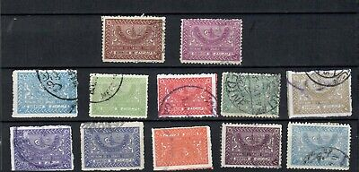 SAUDI ARABIA MIDDLE EAST  COLLECTION USED  POSTAGE DUE  STAMPS LOT (SAU 112)