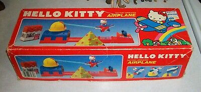 1984 Hello Kitty Airplane by Sanrio - Battery Operated / Works Great! w/Box