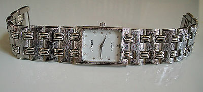 Kyпить Men's Geneva Silver Finish Nugget style bracelet fashion watch  на еВаy.соm