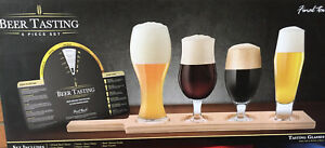 Great gift idea! Beer tasting set with 4  Small Glasses
