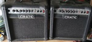 Crate amps