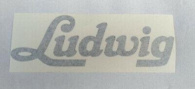 Ludwig '60 Vintage Logo Sticker
