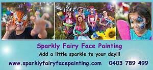 Sparkly Fairy Face Painting Annerley Brisbane South West Preview