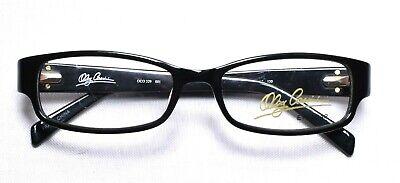 329 Glasses - OLEG CASSINI OCO 329 001 Eyeglass/Glasses Frames 49-16-130 Black >NEW<