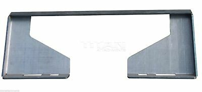 Titan Attachments 516 Thick Heavy Duty Quick Tach Skid Steer Style Mount Plate