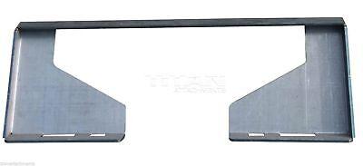516 Quick Tach Loader Cut Out Universal Mount Plate Skid Steer Bobcat Kubota