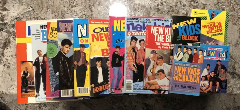 New Kids On The Block Books