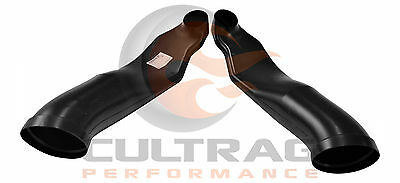 2005-2013 Chevrolet C6 Corvette Genuine GM C6 Z06 Front Brake Duct Kit