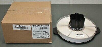 Brady Wraptor Wire Marker Label Tape Wrap-1-427 White Vinyl Self-laminating