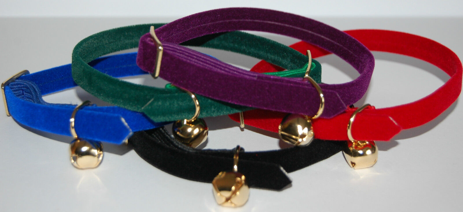ANCOL VELVET ELASTICATED CAT COLLAR with or without Engraved ID Tag