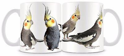 Cockatiel Bird Mug 11oz