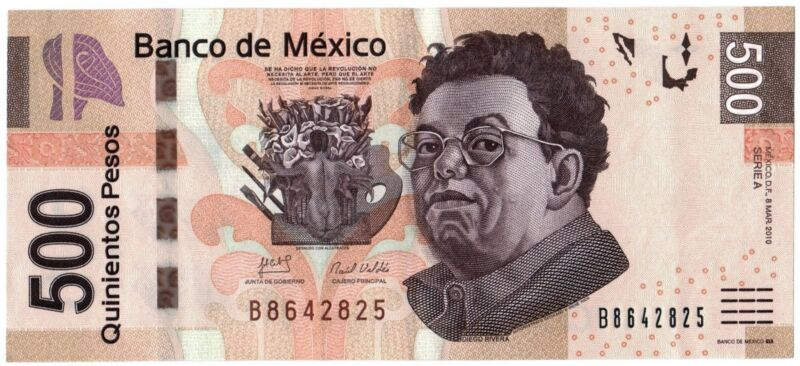 MEXICO 500 PESOS BILLETE