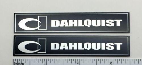 Dahlquist Speaker Badge Emblem with DQ Logo Pair Aluminum DQ-10