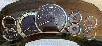 2002 Cadillac Escalade Instrument Panel Cluster with Trans Temp-Includes LED's!!